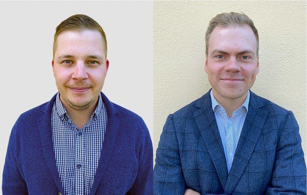 Lauri Lehtonen ja Samu Kallioinen.