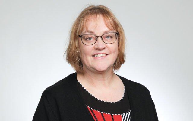 Patentti- ja rekisterihallituksen laadunvarmistustiimin vetäjä Riitta Ylipiha.